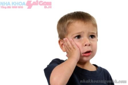 Tình trạng sâu răng ở trẻ em