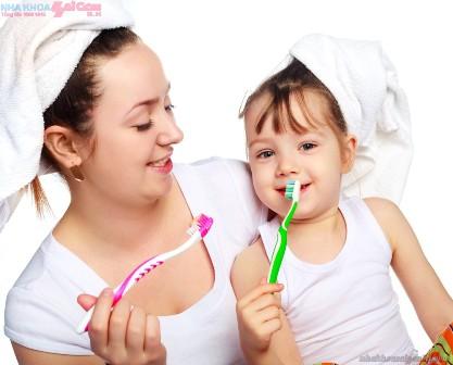 Gần 90% trẻ em Việt Nam đánh răng không đúng cách