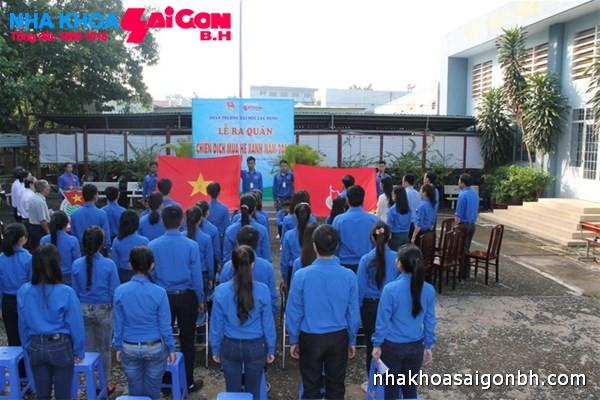 Nha khoa Sài Gòn B.H đồng hành chiến dịch Mùa hè xanh 2014