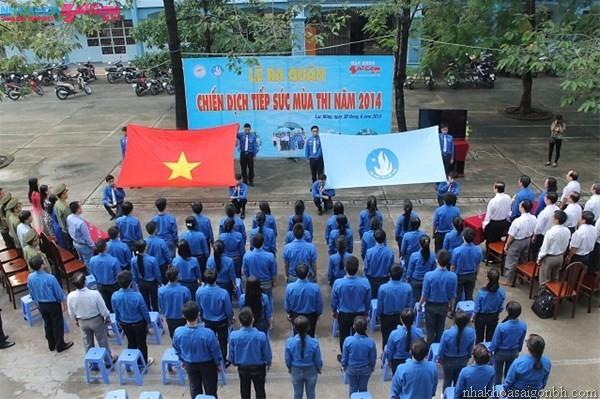 Nha Khoa Sài Gòn B.H đồng hành tiếp sức mùa thi 2014