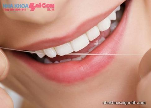 Chăm sóc răng cẩn thận sau khi trám