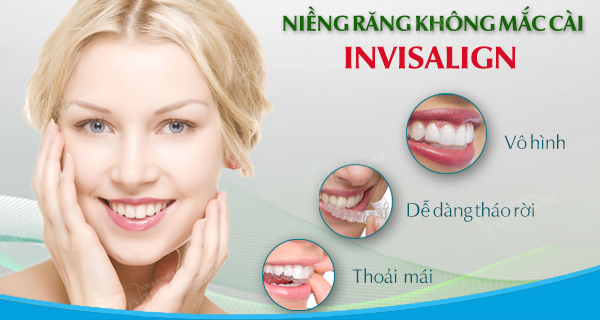 Công nghệ niềng răng invisalign tiêu chuẩn quốc tế