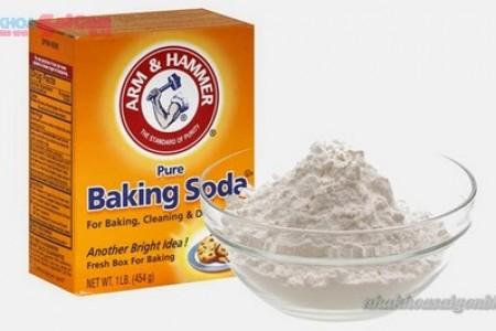 baking soda giúp làm trắng răng