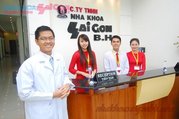 đội ngũ chuyên viên và bác sĩ tại nha khoa Sài Gòn BH