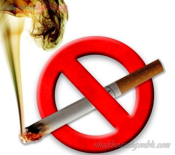 Tránh hút thuốc lá