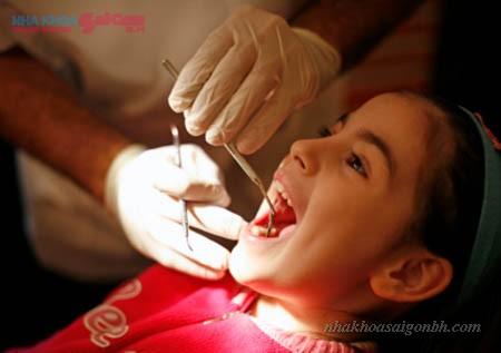 Tẩy trắng răng cho trẻ em có được hay không?