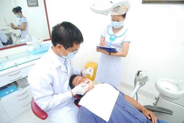 Kiểm tra trước khi tẩy trắng răng