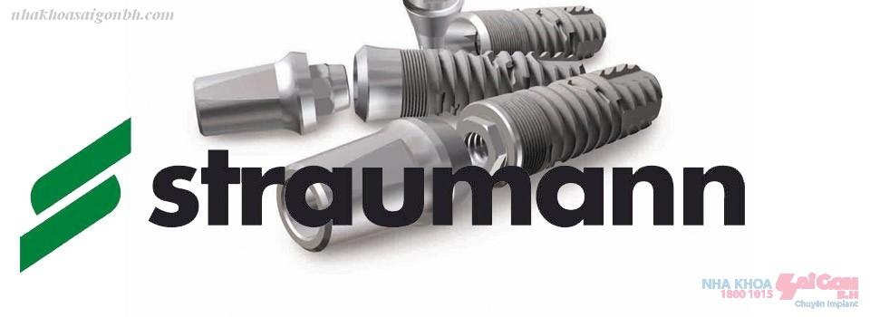 Ưu điểm của Straumann implant dùng để cấy ghép