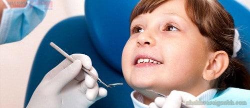 Chữa tủy răng sữa cho trẻ