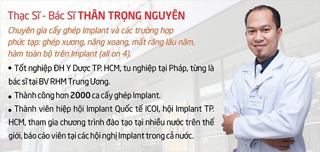 Thạc sĩ - Bác sĩ Thân Trọng Nguyên