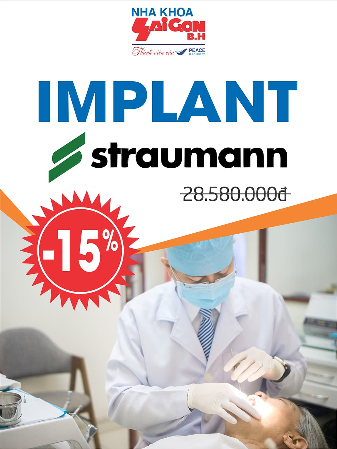 Tại sao bác sĩ nha khoa tin dùng Implant Straumann?