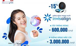 Niềng răng Invisalign – Điều trị chuẩn xinh – Ưu đãi 15% đến từ Nha Khoa Sài Gòn B.H (Tin đã hết hạn khuyến mãi)