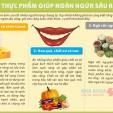 những thực phẩm giúp ngăn ngừa sâu răng