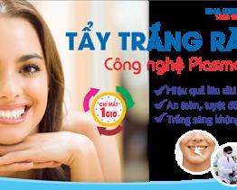 Tẩy trắng răng bằng công nghệ Plasma an toàn hiệu quả
